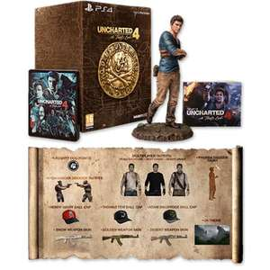Uncharted 4 A Thief's End Edition Collector Libertalia PS4