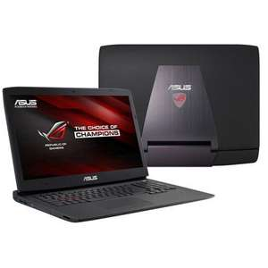 """PC portable 17.3"""" Asus ROG G751JY-T7495T - Intel Core i7-4750HQ, 1 To HDD + SSD 128 Go, 8 Go RAM, GeForce GTX 980M 4 Go"""