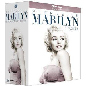 Coffret Blu-Ray Eternelle Marilyn Monroe - 7 Films