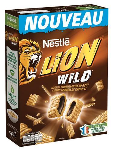 Céréales Nestlé Lion Wild - 410g