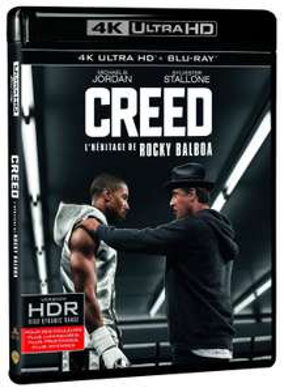 Creed Blu-ray 4K UHD + Blu-ray