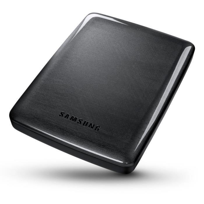 """Disque dur externe 2.5"""" Samsung P3 STSHX-MTD40EF 4To - Noir"""