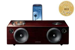 Vente flash : Dock iPhone / Samsung galaxy Pré-ampli à lampes Samsung DA-E750 - Airplay - Wifi - Bluetooth
