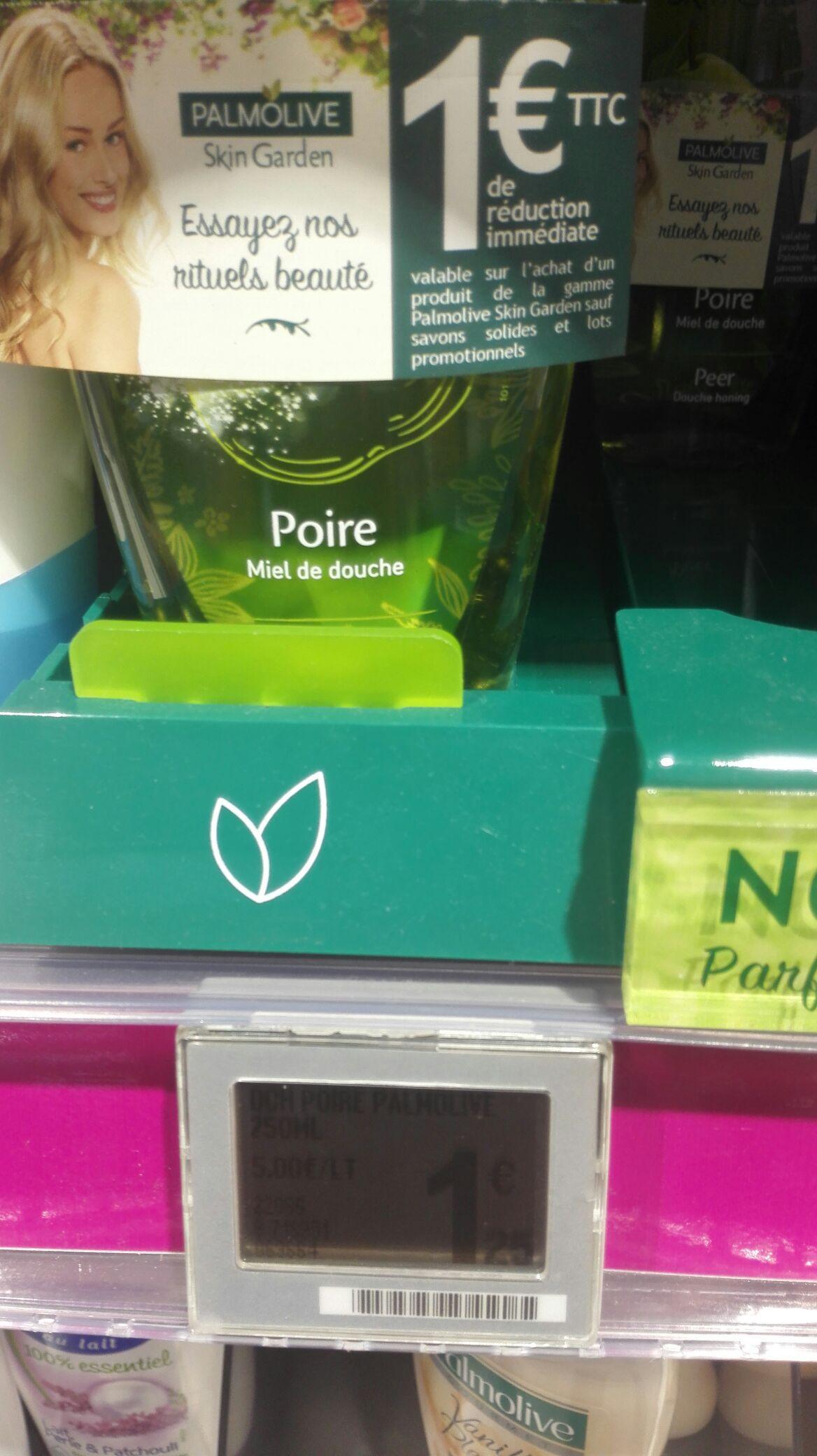 Gel douche Palmovile skin garden (via bon de réduction)
