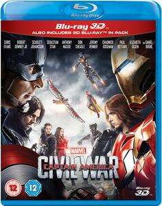 [Précommande] Sélection de Blu-rays en promo - Ex : Captain America : Civil War Blu-ray 3D + 2D