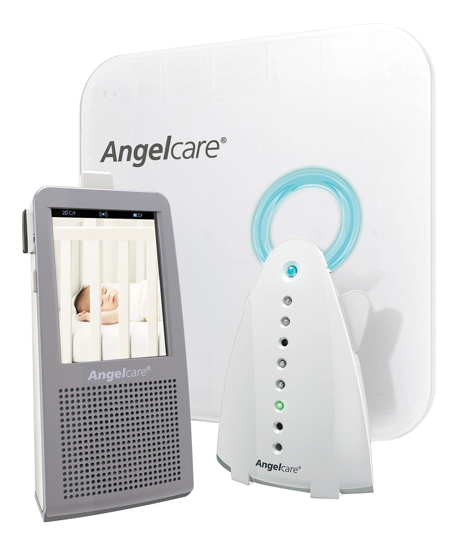 Ecoute-bébé AngelCare son mouvement, vidéo et veilleuse àAC1100