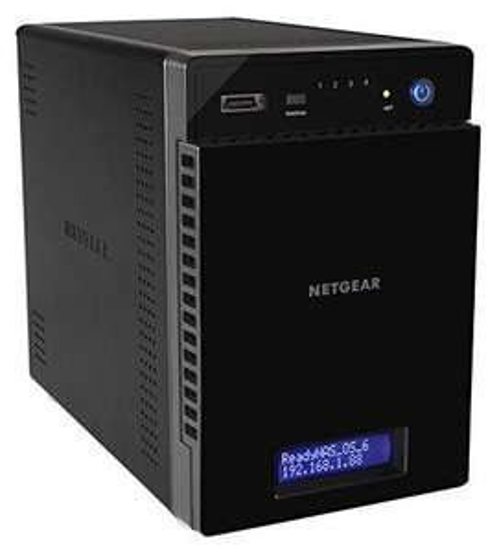Serveur NAS Externe Netgear ReadyNAS 214 - 4 baies, jusqu'à 24To, SATA/SSD