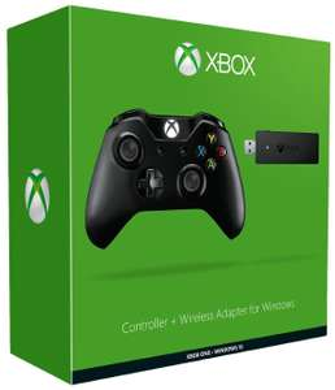 Manette sans fil pour Xbox One / PC (Prise Jack) + Adaptateur sans fil pour Windows