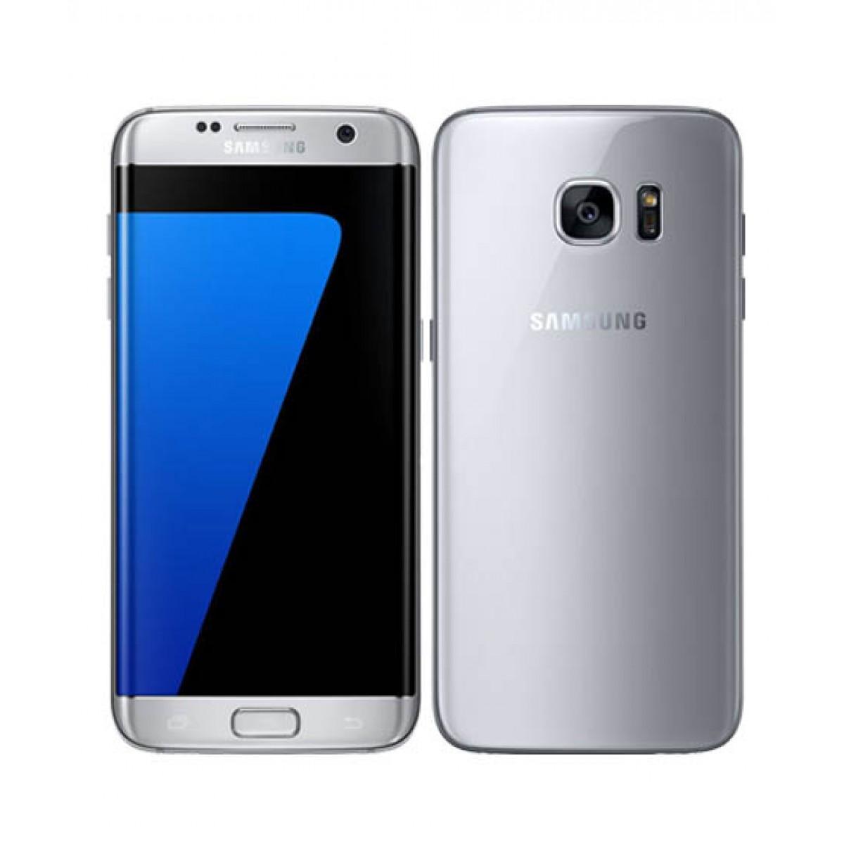 "Smartphone 5.5"" Samsung Galaxy S7 Edge G935FD Argent - Double SIM, 32 Go (Boite ouverte)"