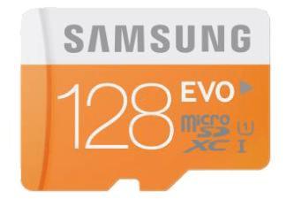 Selection de cartes mémoire Samsung en promo - Ex: Carte Samsung microSDHC EVO UHS-I U1 (Classe 10) - 128 Go