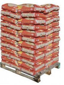 Palette de 72 sacs de 15kg de granulés de bois pour Poêles à pellets - 1,08T (via carte de fidélité)