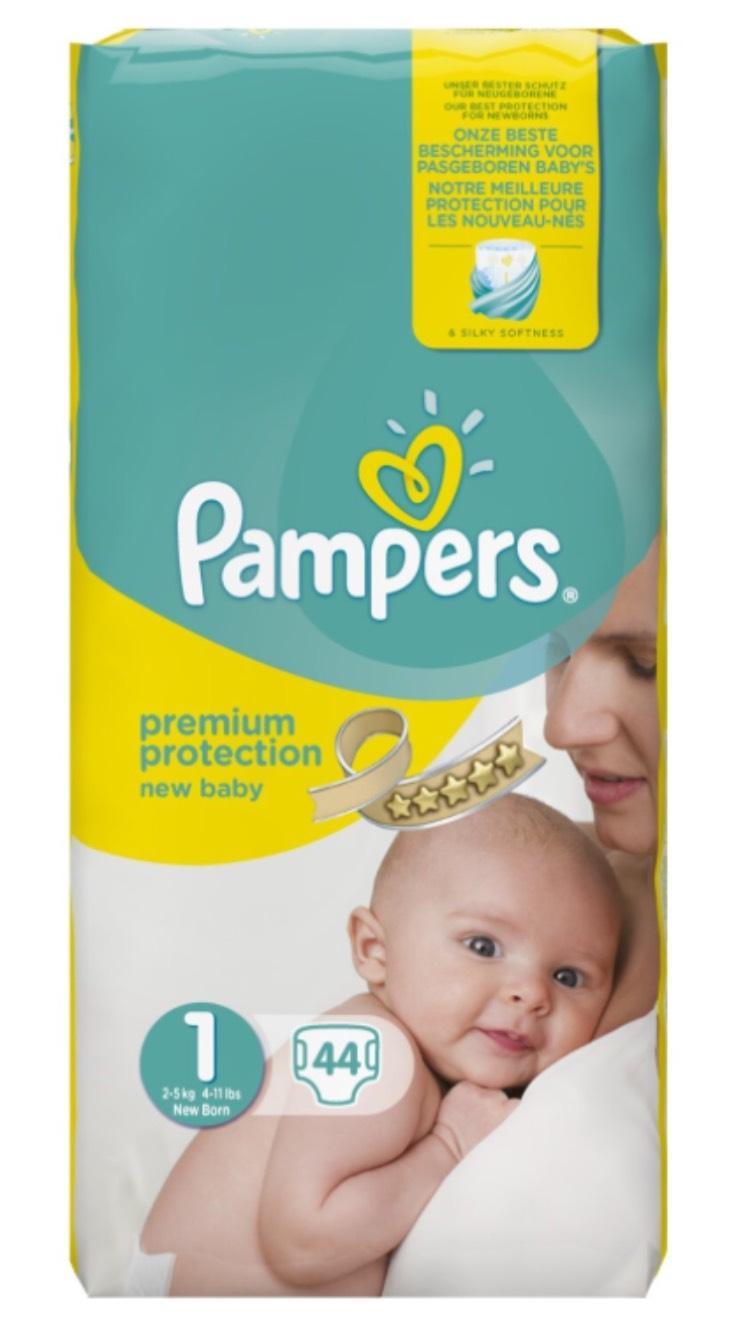 Lot de 88 couches Pampers New Baby Couches 2-5 kg - Taille 1 à 10€ pour membres premium et abonné et pour les autres