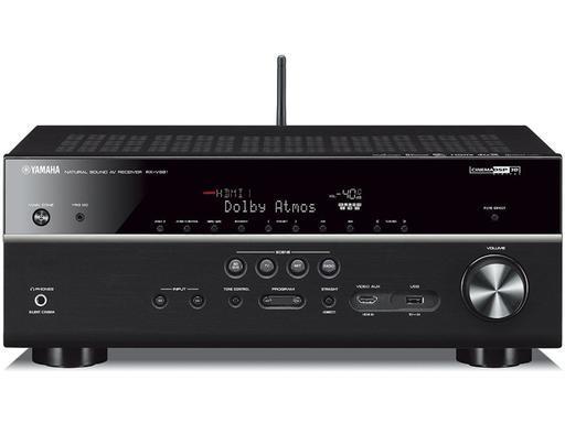 Amplificateur 7.2 Yamaha RX-V679 Noir - YPAO, UHD/4K & HDCP 2.2, Upscaling 4K/60Hz