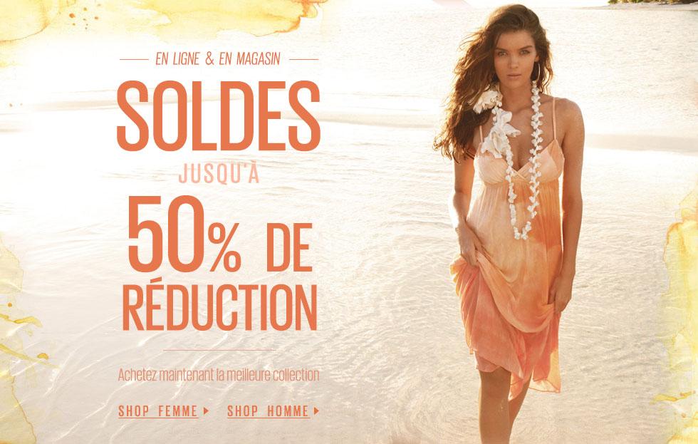 -30% de réduction dès 150€ d'achats, valable sur les soldes