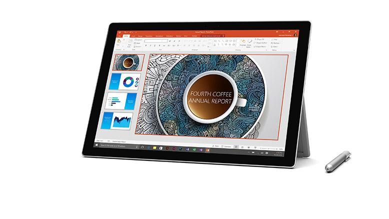 """Sélection de tablettes tactiles Microsoft Surface en promotion - Ex : 12.3"""" Surface Pro 4 (m3, 4 Go de RAM, 128 Go)"""