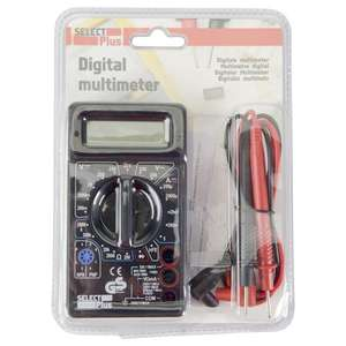 Multimètre numérique Select Plus - Max 250V/5A