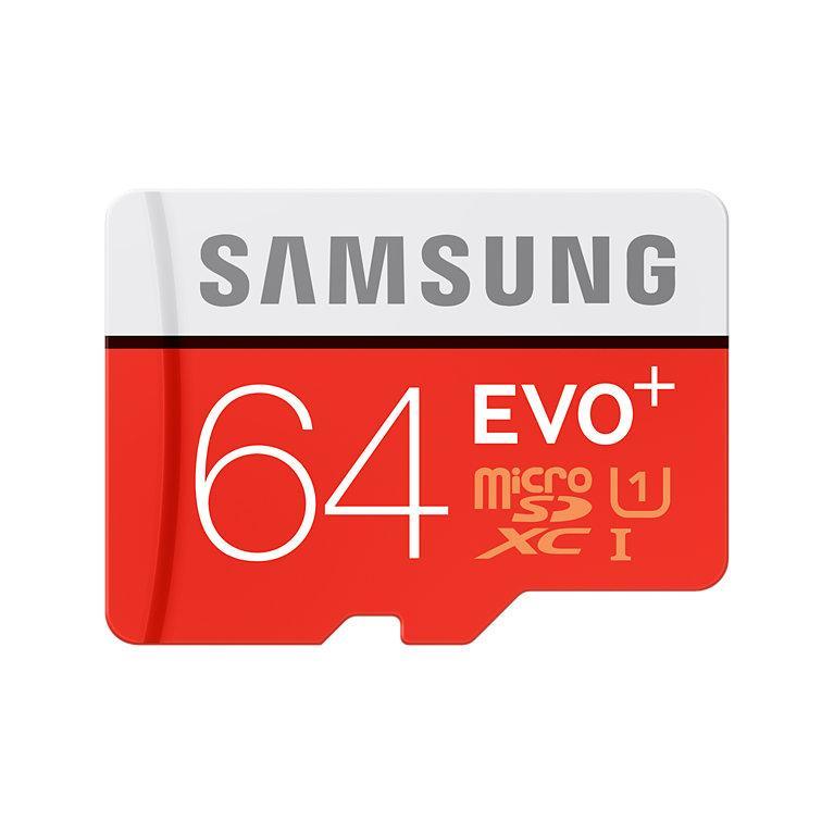 [Cdiscount à Volonté] Carte microSDXC Samsung Evo Plus - 64 Go