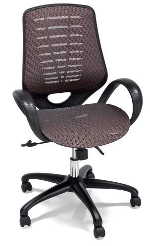 Chaise de bureau pivotante Buro - bronze