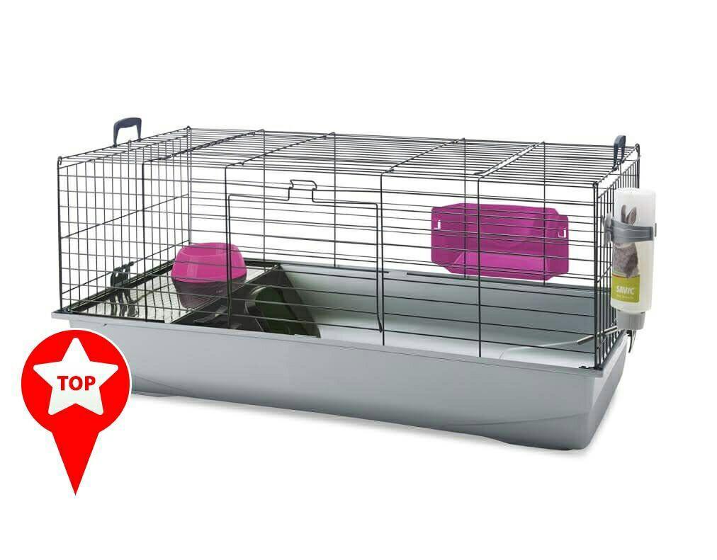 Cage pour lapin 100 x 50 x 45cm