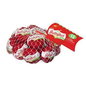 Lots de 3 filets  de 18 pièces de Mini Babybel rouge 396 g