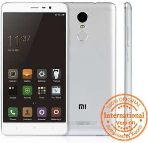 "Smartphone 5.5"" Xiaomi Redmi Note 3 - 2 Go de RAM, 16 Go, version internationale"