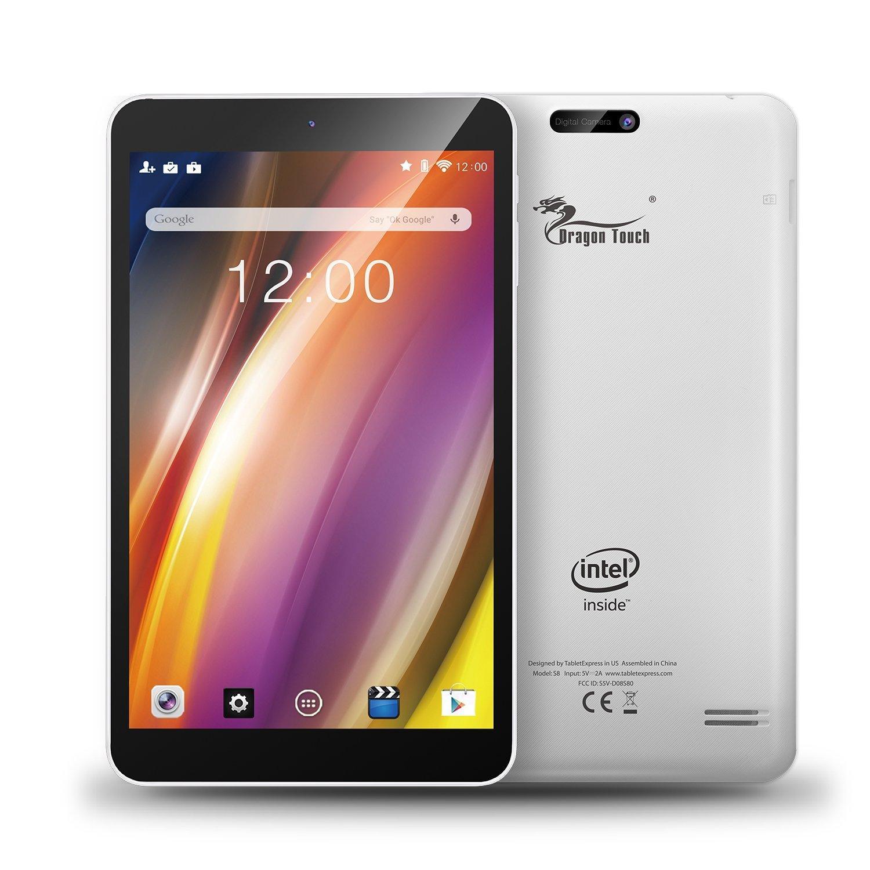 "Tablette 8"" Dragon Touch S8 (Quad Core, 1 Go Ram, 16 Go ROM)"