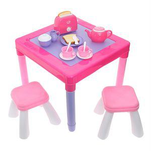Table de Petit Déjeuner + 34 accessoires