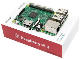 1 Raspberry PI 3 offert pour 100$ d'achats (88,54€)