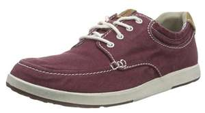 Chaussures Clarks Norwin Vibe Derby Homme Rouge (taille au choix)
