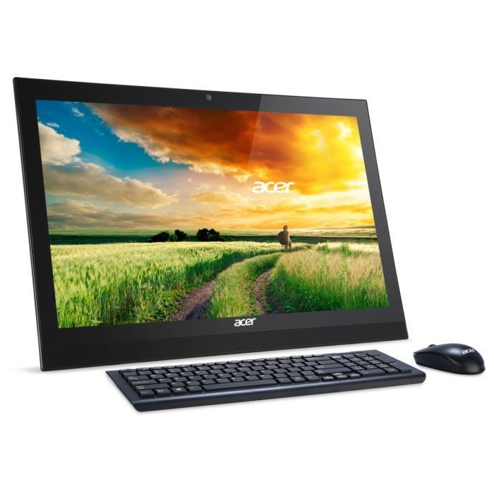 """PC Tout en Un 21.5"""" Acer Aspire Z1-623 - Full HD, i3-5005U, RAM 4 Go, HDD 1 To, Windows 10 + 1 bon d'achat de 99.99€"""