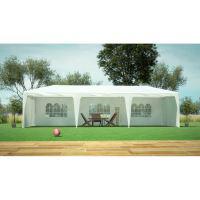 Tente de jardin Tonnelle pergola 3x9m - port inclus