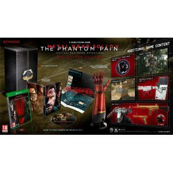 Coffret Collector Metal Gear V: The Phantom Pain sur Xbox One