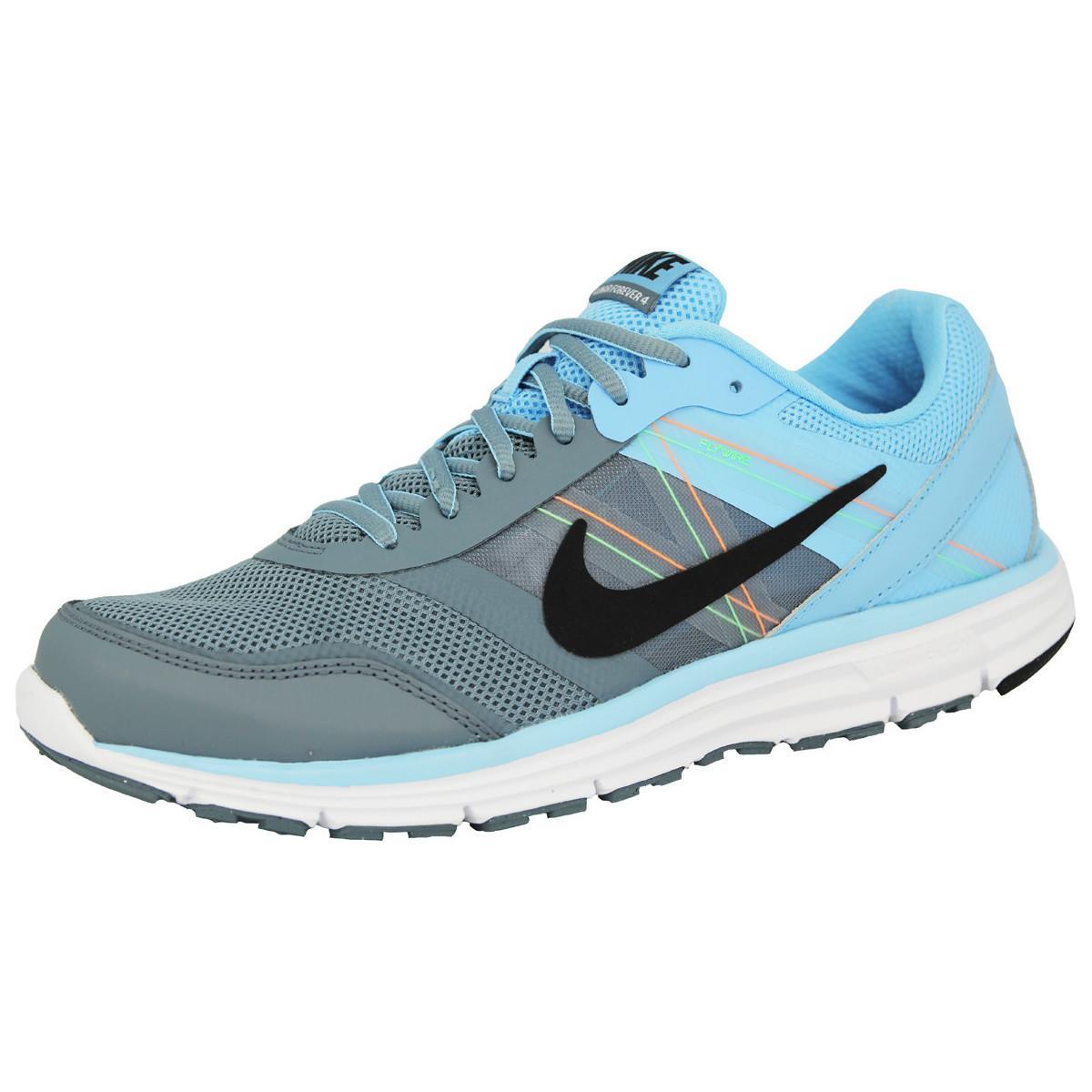 Baskets de Running Nike Lunar Forever 4 - Bleu / Gris, Tailles : 42, 43 ou 44