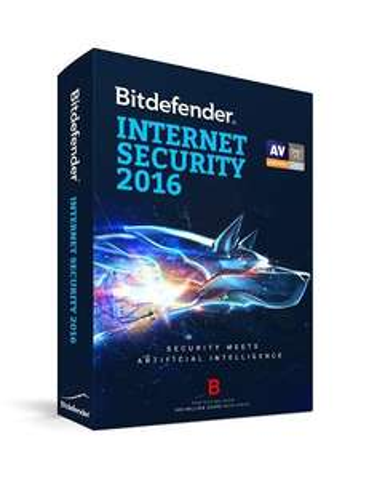 Antivirus Bitdefender Internet Security 2016 - Licence 6 mois gratuite