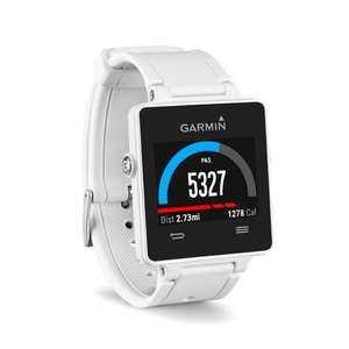 Montre GPS connectée Garmin Vivoactive - Blanc