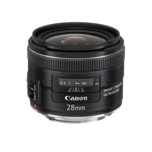 Objectif Canon EF 28mm f/2.8 IS USM