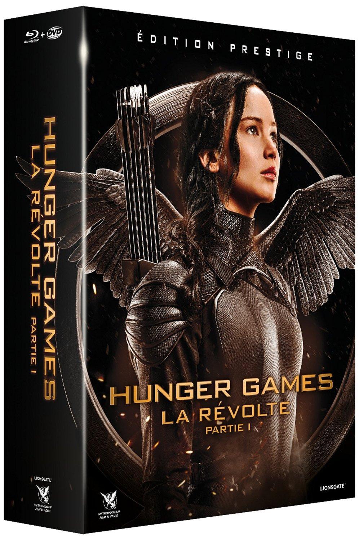 Coffret Blu-ray + DVD Hunger Games - La Révolte : Partie 1 (Édition Collector Numérotée)