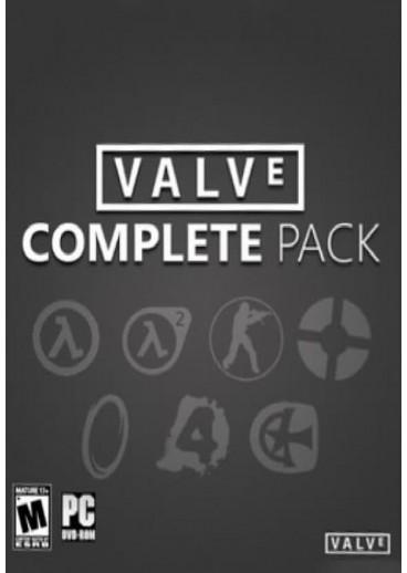 Sélection de jeux vidéo sur PC (dématérialisés, Steam) en promotion - Ex : Valve Complete Pack