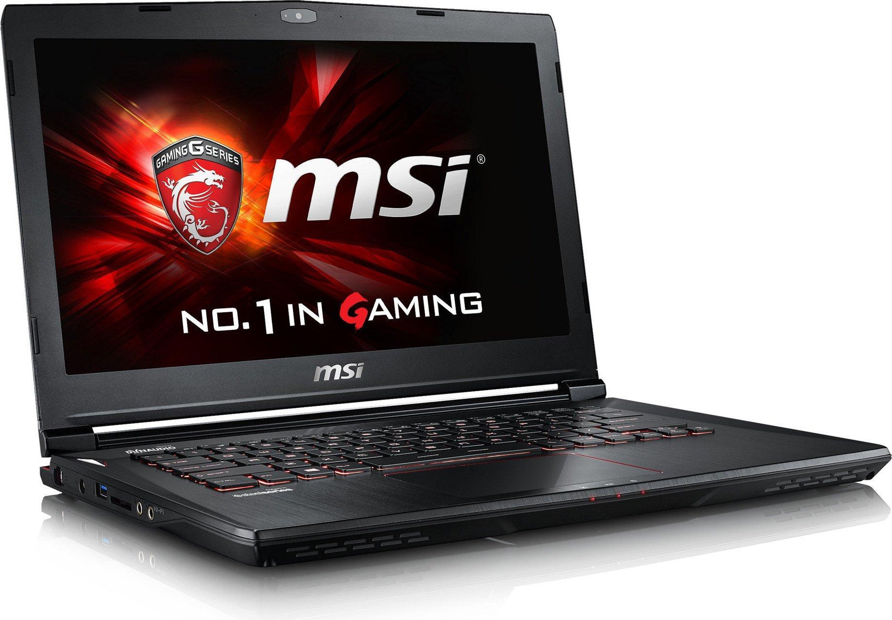 """[Cdiscount à Volonté] PC portable 14"""" MSI GS40 (full HD, i5-6300HQ, GTX 970M, 8 Go de RAM, 1 To + 128 Go en SSD NvMe, sans OS)"""
