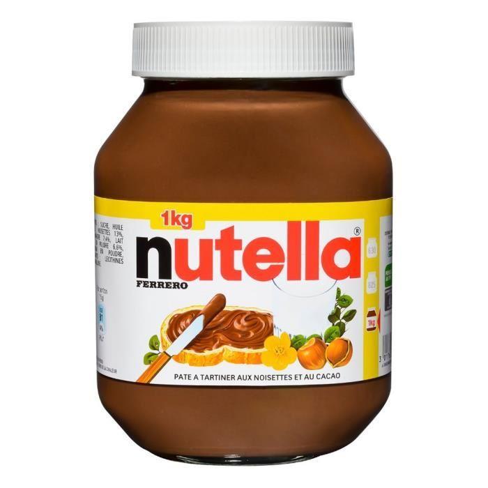 2 pots de 1Kg de Nutella