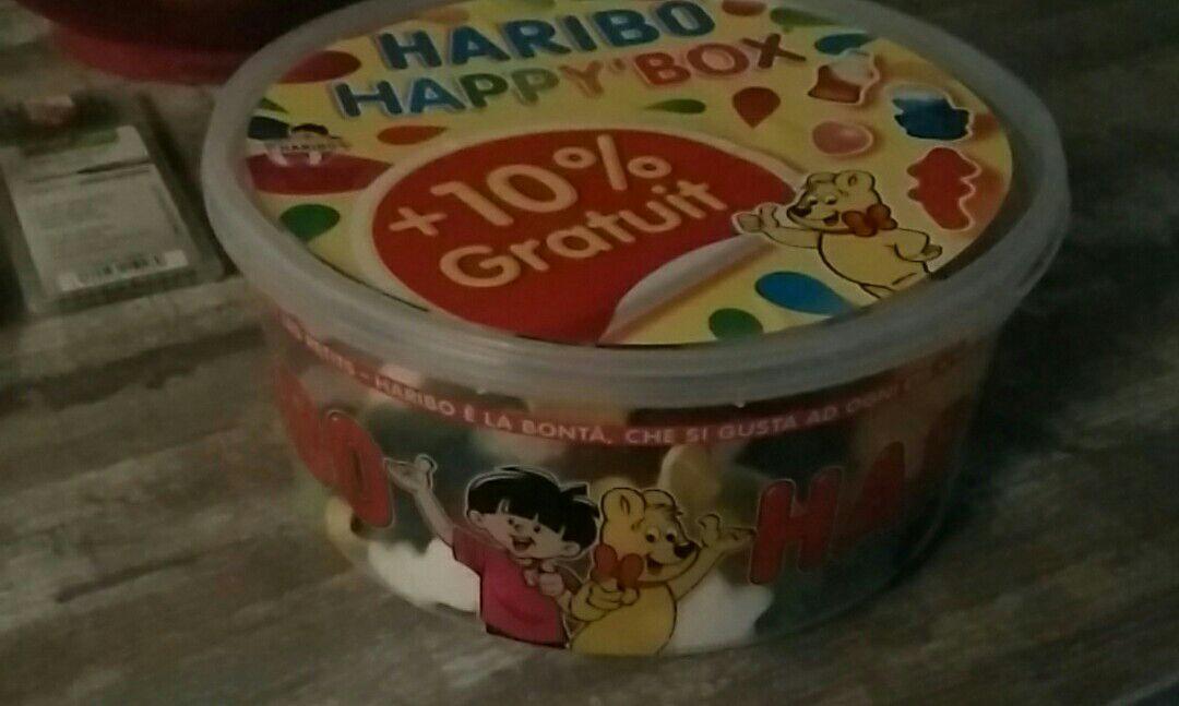 Boite de Bonbons Haribo Happy Box - 1,1 kg