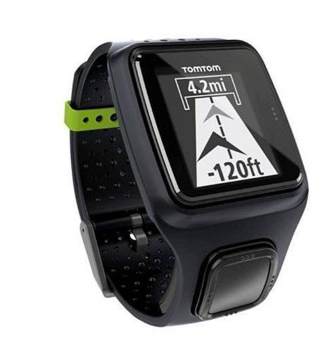 Montre GPS TomTom - Runner - Noir, Gris Foncé ou rose