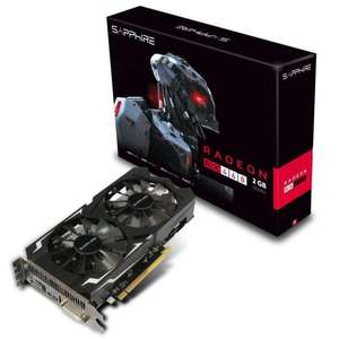 Carte graphique Sapphire AMD Radeon RX 460 2Go GDDR5