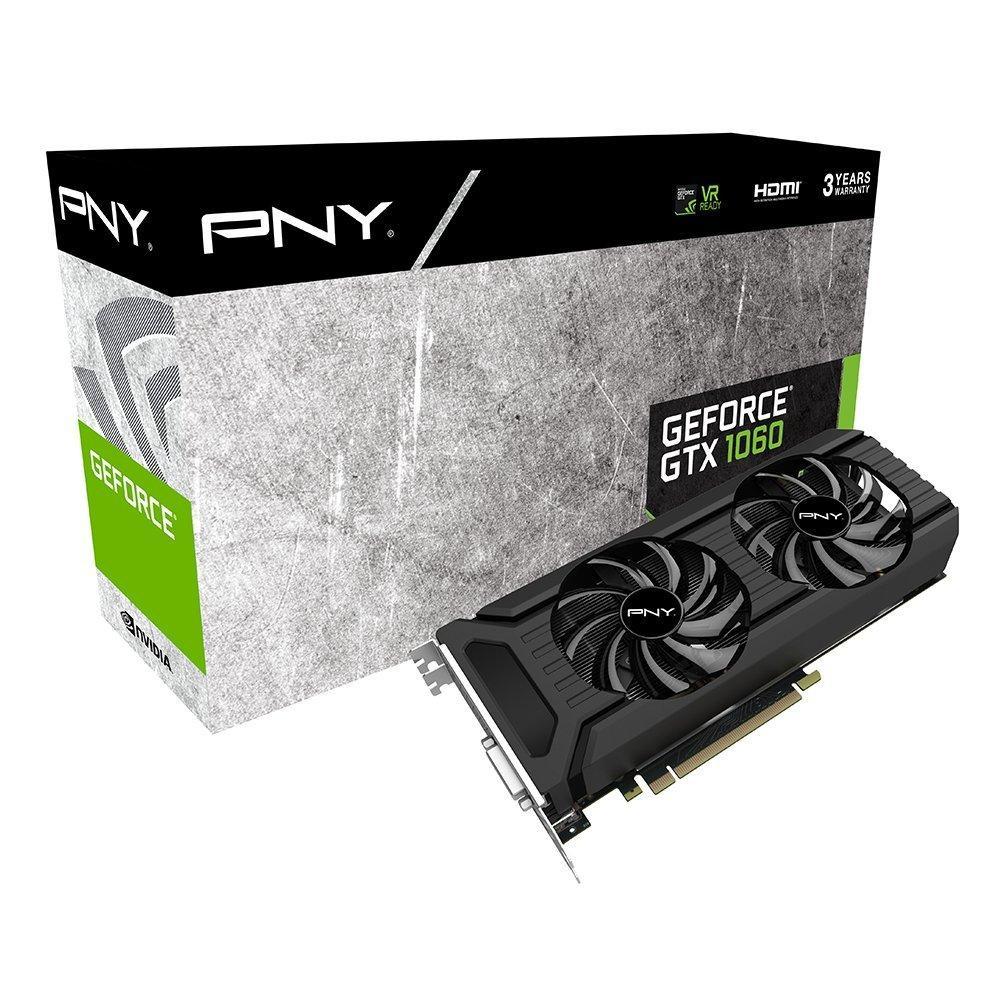 Carte graphique PNY Nvidia GeForce GTX 1060 6Go GDDR5 (Non OC)