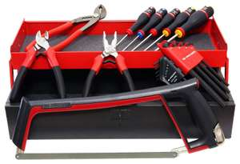 Boîte à outils en métal Facom BT.6AFRPG avec 18 Outils (Fabriqué en France) + 30€ en carte cadeau