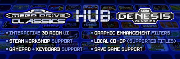 Sélection de jeux PC SEGA (Dématérialisés - Steam) en promotion - Ex : SEGA Mega Drive and Genesis Classics