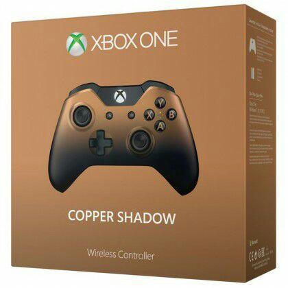 Manette sans fil Microsoft Copper Shadow pour Xbox One
