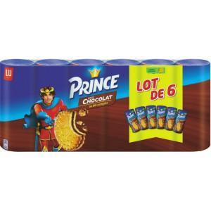 [Carte Casino] Lot de 4 packs de Biscuits LU Prince Chocolat (6 x 300g)