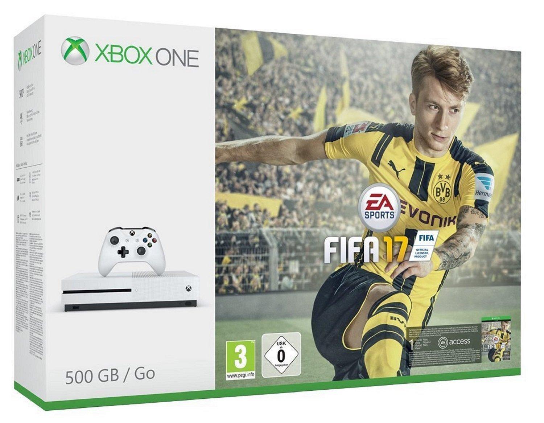 Console Microsoft Xbox One S - 500 Go + Fifa 17