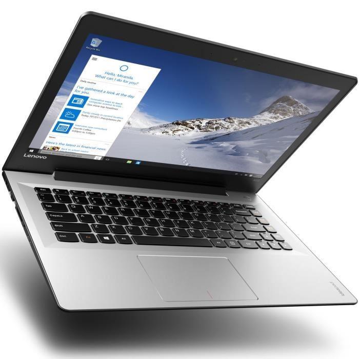 """[Cdiscount à volonté] PC Portable 14"""" Lenovo Ideapad 500s-14ISK  - Intel i5-6200U, 8 Go de Ram, 256 Go SSD"""